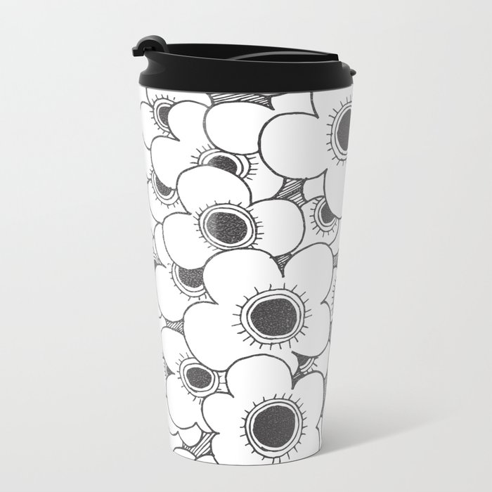 BLOSSOMS Metal Travel Mug