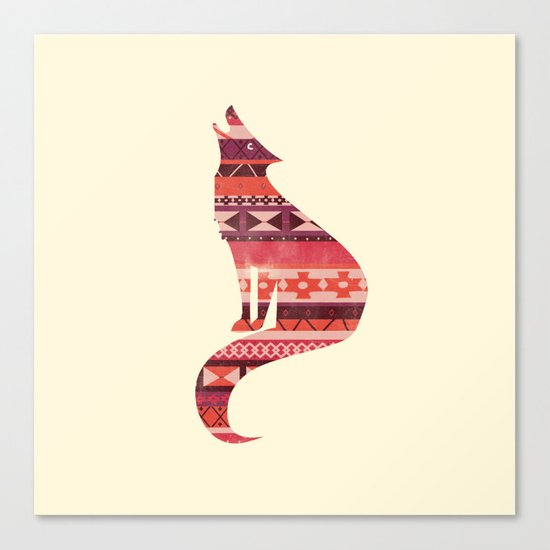 Native Song Canvas Print