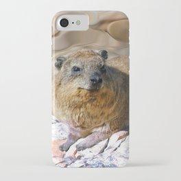 African Rock Hyrax iPhone Case