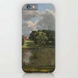 John Constable - Wivenhoe Park iPhone Case
