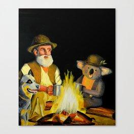 The Swagman and the Koala Canvas Print