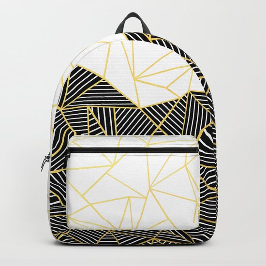 Ab Half and Half White Gold Backpack