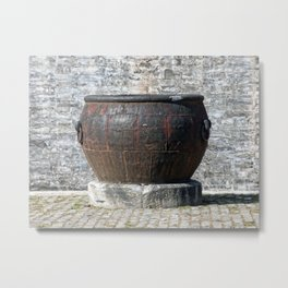 Bronze Pot Metal Print