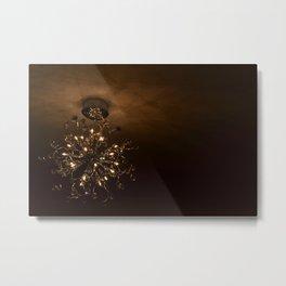 Lightfilled Canvas Metal Print