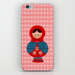 Matrioskas (Russian dolls) iPhone Skin