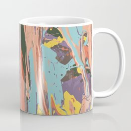 Baesic Primary Paint Drips Coffee Mug