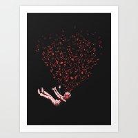 imagine Art Prints featuring Imagine by carbine