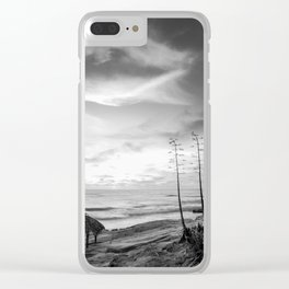 Windansea Beach Clear iPhone Case