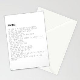 Psalm 23 #minimalist Stationery Cards