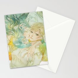 world without you Stationery Cards
