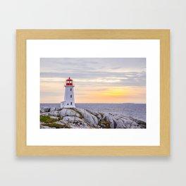 Peggys Cove Framed Art Print
