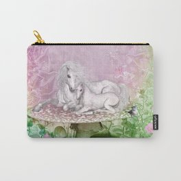 Wonderful unicorn with foal Carry-All Pouch
