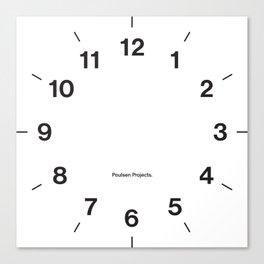 Time Clock 2 Canvas Print