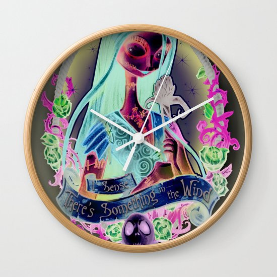 """Something In the Wind"" Wall Clock"