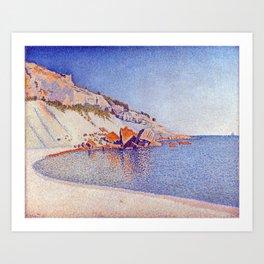 Paul Signac Cassis, Cap Lombard, Opus 196 Art Print