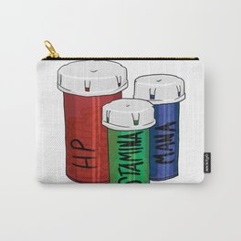 It's Dangerous to go Alone! Don't Forget These! Carry-All Pouch