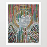 angel music Art Print