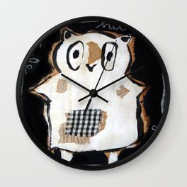 owl Wall Clock