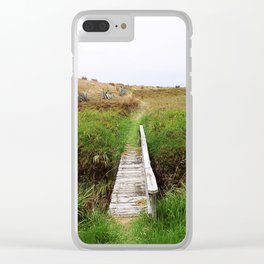 The Pathway Clear iPhone Case