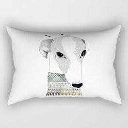 Mr. Galgo Dog Rectangular Pillow