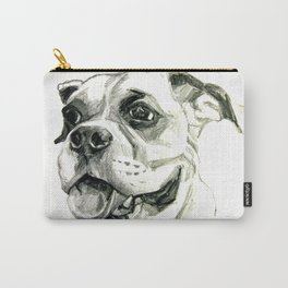 Smiling Boxer Boy Oscar Carry-All Pouch
