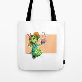 Zombie Nomz Tote Bag
