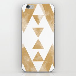 MOON MUSTARD iPhone Skin