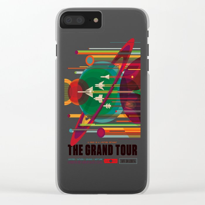 The Grand Tour Clear iPhone Case