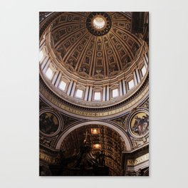 Antithesis of Simplicity Canvas Print
