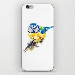 Tiny Colorful Bird iPhone Skin