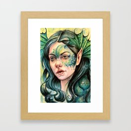 Water Nymph Framed Art Print