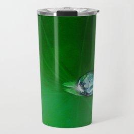 Water Drop Waves - Look Closer Travel Mug