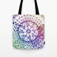 zen Tote Bags featuring Zen by Alohalani