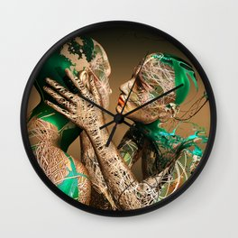 Living For Love Wall Clock