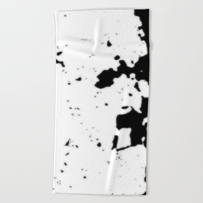 mad cowZa titor doZa Beach Towel
