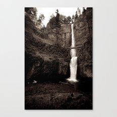 multnomah falls. Canvas Print
