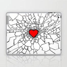Heartbreaker III White Laptop & iPad Skin