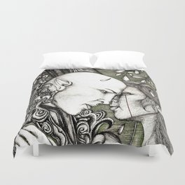Dread Wolf's lover Duvet Cover