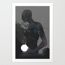 All New, Faded for Her Art Print
