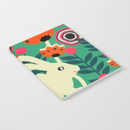 Little bunny in spring Notebook