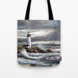Beam of Hope Tote Bag
