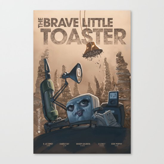 The Brave Little Toaster Canvas Print