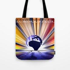 Luminous flux. Tote Bag
