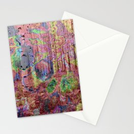 Trippy Forest 2 Stationery Cards