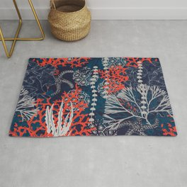 Corals and Starfish Rug