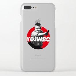 Yojimbo - Toshiro Mifune Clear iPhone Case