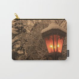 Lamplight in Winter Carry-All Pouch