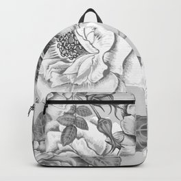 NATURE IN BLACK AND WHITE Backpack
