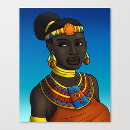 Sun Princess Canvas Print