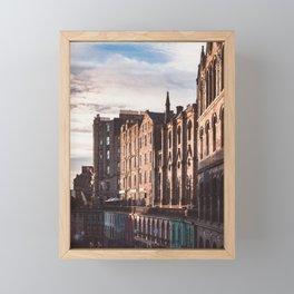Victoria Street Framed Mini Art Print
